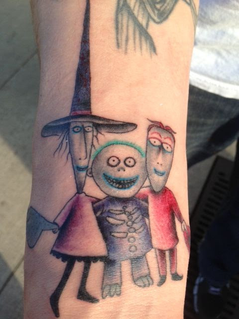Mickey Ink O Nightmare Before Christmas Tattoos