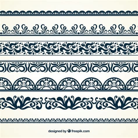 Ornamental borders Vector   Free Download