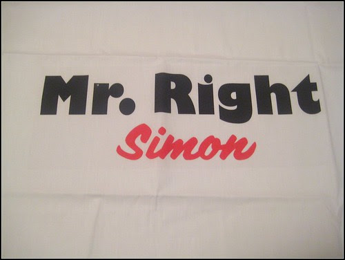 Dakota Gifts Mr. Right Pillowcase