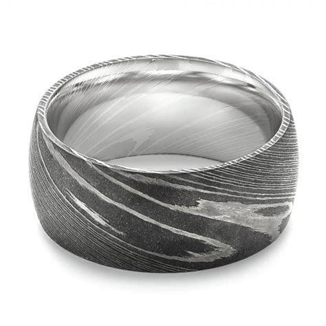 Damascus Steel Men's Wedding Ring #103119   Seattle