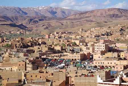 Boulmane de Dadès vallée du Dadès - Sud maroccain