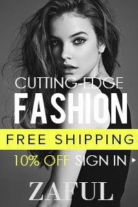 No Coupon Needed! 10% OFF Sign In @zaful.com! Free Shipping for Cutting-Edge Fashion