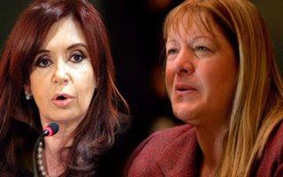 Cristina Kirchner , furiosa con Margarita Stolbizer: insultos y amenazas