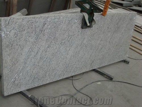 American Grey White Granite Countertops from China - StoneContact.