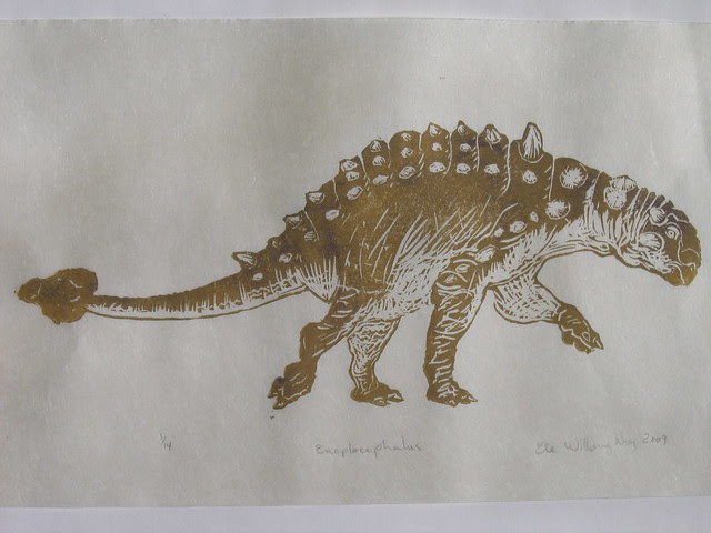 hard-headed vegetarian: Euoplocephalus print
