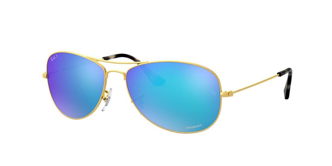 c5ee31fa3b Ray-Ban Gold Sunglasses. Chromance is a new Ray-Ban lens technology that  maximises colour enhancement
