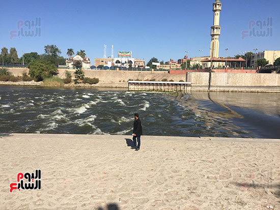 صورة للمكان الذى شهد غرقه