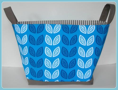 Fabric Bucket - Modern Flora frame