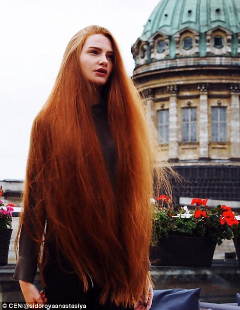 Russian woman w suffered from alopecia now has long hair | Daily ...