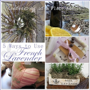 CONFESSIONS OF A PLATE ADDICT Five Ways to Use French  Lavender small