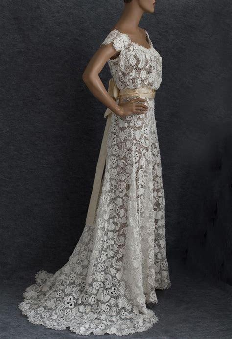 25  best ideas about Crochet Wedding Dress Pattern on