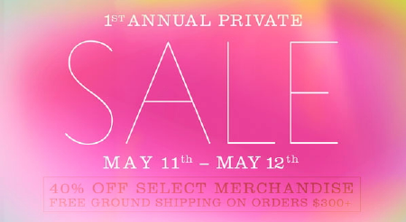 Ella Moss Online Private Sale