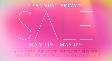 Ella Moss Online Private Sale