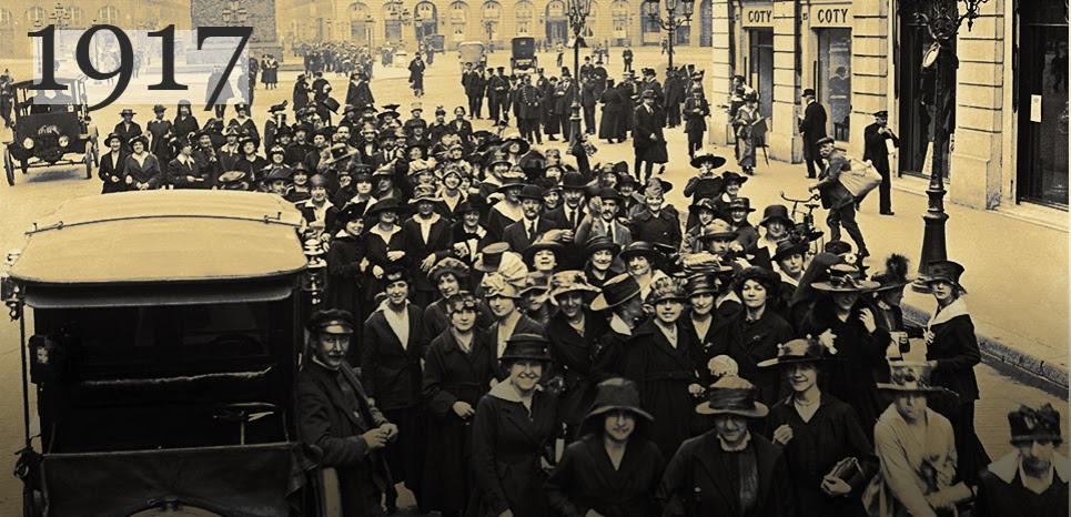 Le jour où les femmes ont fait grève pour la première fois