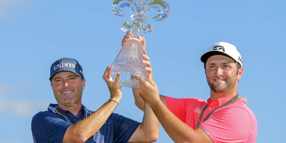 Zurich winners Ryan Palmer and Jon Rahm