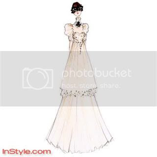 Bella's Wedding Dress (InStyle)