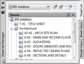 Sheet Set Manager