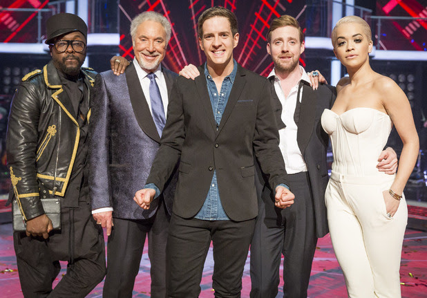 The Voice, Final, Will.i.am, Sir Tom Jones, Stevie McCrorie, Ricky Wilson, Rita Ora