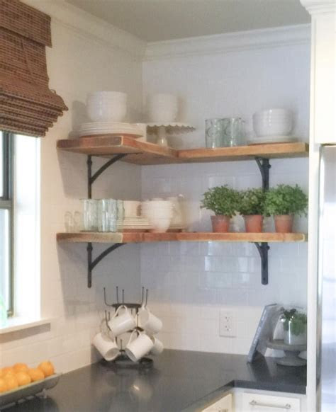 shanty sisters  instagram simple corner shelves