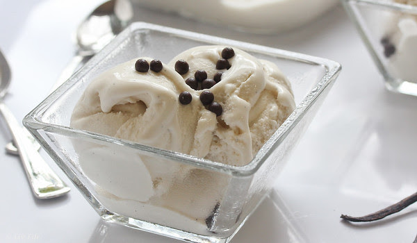Coconut Vanilla Bean Ice Cream ...  #dairyfree
