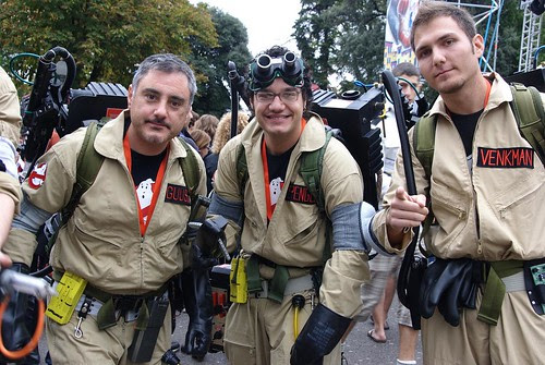 Lucca Comics & Games - 2008 - Ghostbuster