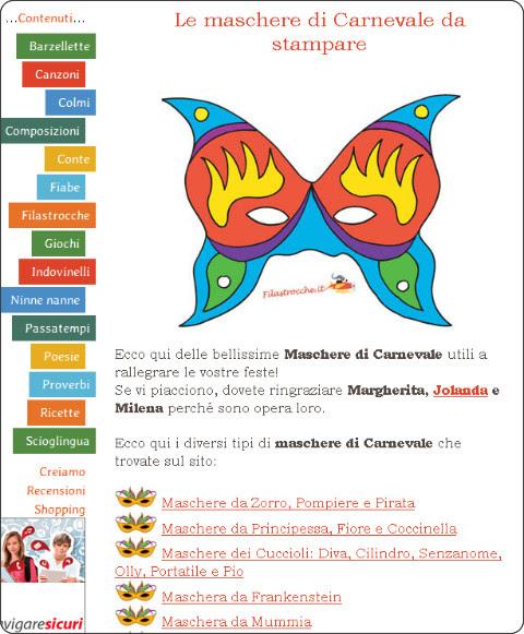 http://www.filastrocche.it/feste/le-maschere-di-carnevale-da-stampare/