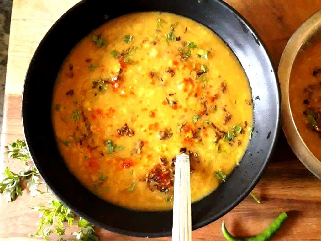 Dhaba Style Dal Tadka   Dal Fry Recipe - My Dainty Kitchen