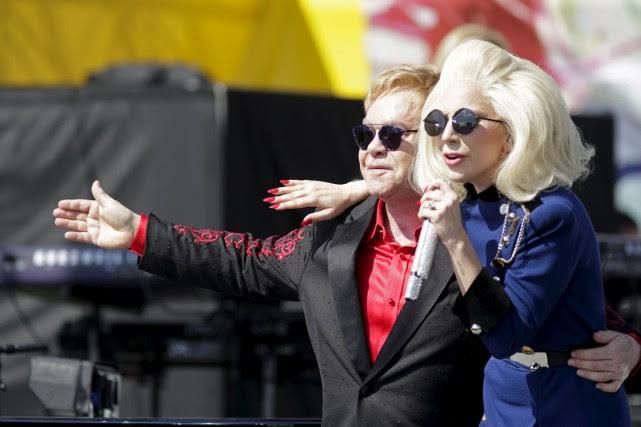 Elton John a un lien indélébile avec la soirée des Oscars en raison de... (Photo Reuters)