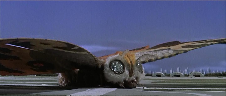 Mothra makes a perfect landing.