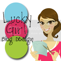 Lucky Girl Blog Design