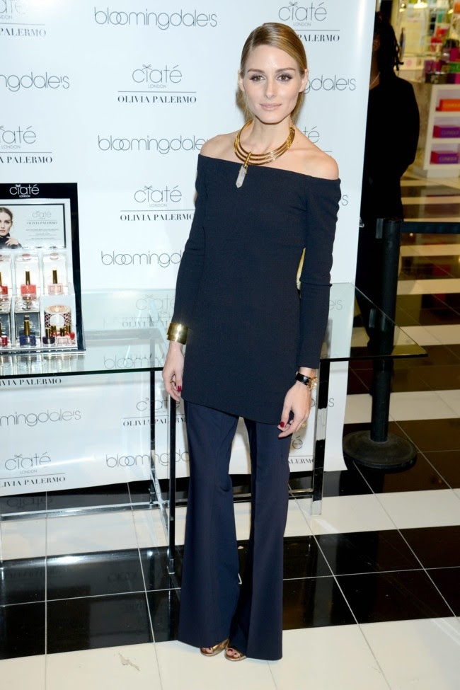Olivia Palermo Look Negro Total Black Nueva York 2