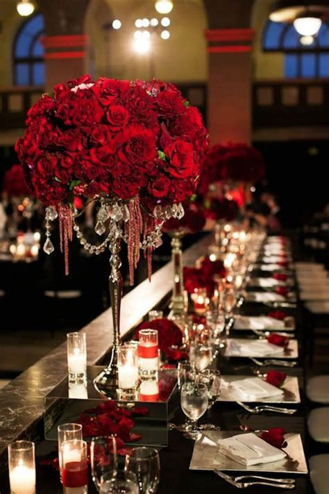 25  Best Ideas about Red Wedding Decorations on Pinterest