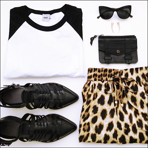 LE FASHION BLOG MUST HAVE BASEBALL TEE CREW RAGLAN TWO TONE TSHIRT ASOS baseball top Elizabeth James LAFAYETTE CAT EYE Sunglasses ASOS TALON EARRINGS Proenza Schouler zip case Zara STRAPPY boots Zara leopard PRINT Pants photo LEFASHIONBLOGMUSTHAVEBASEBALLTEECREWRAGLANTWOTONETSHIRTASOSbaseballtopElizabethJamesLAFAYETTECATEYESunglassesASOSTALONEARRINGSProenzaSch.png