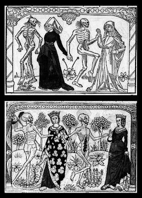 Une vieille fille et une cordelière AND Une reine et une duchesse