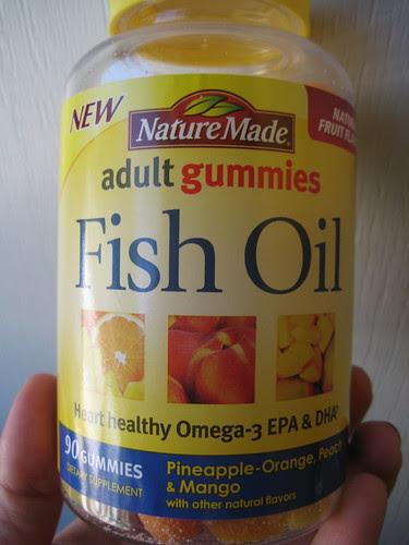 Nature Made Fish Oil gummies
