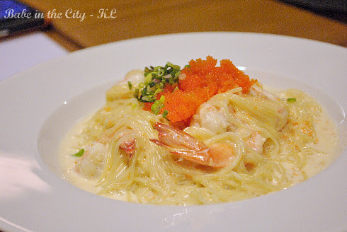 Creamy Capellini Angel Hair Pasta (RM18)
