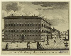 A view of the palace of Prince... Digital ID: 835833. New York Public Library