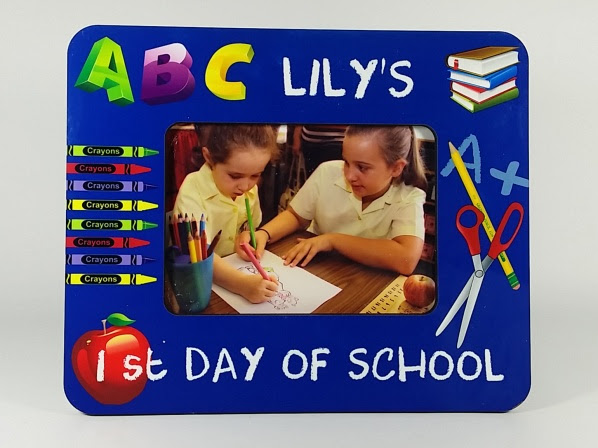Personalised Photo Frame 1st Day Of School