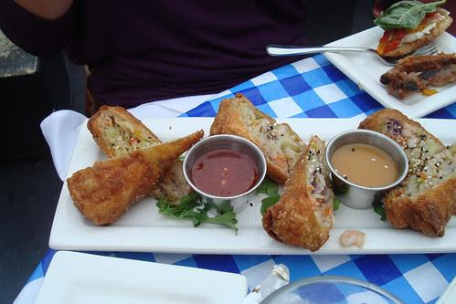 Lobster and Shrimp Egg Rolls at Rush Street