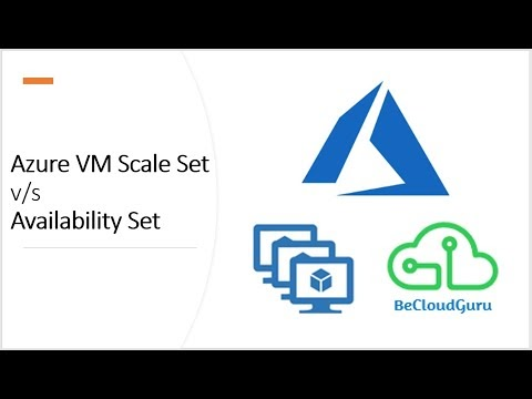 Azure Scale Set vs Availability Set Demo| Difference between Azure Scale...