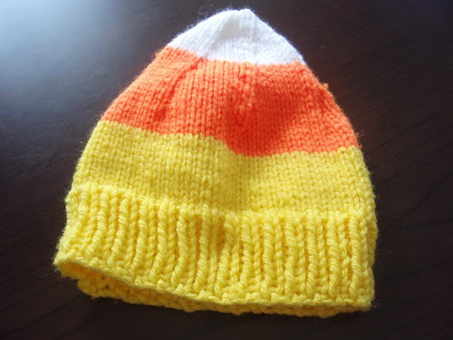 first candy corn hat