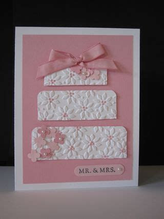 Gorgeous wedding card! This would also make a very pretty