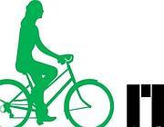 Il logo della campagna Bici in itinere