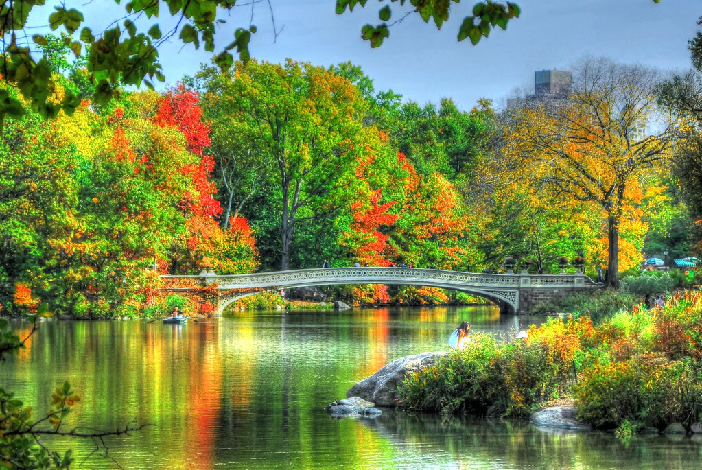 New York City - Central Park (Bow Bridge HDR)