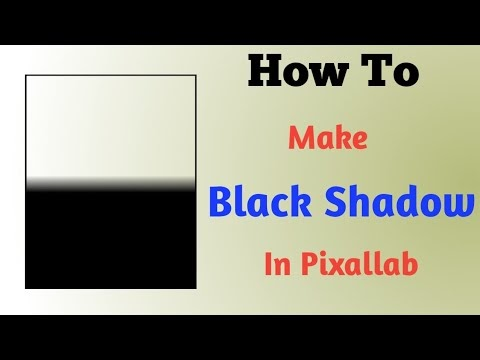 How to Make Black Shadow PNG for Pixellab Download