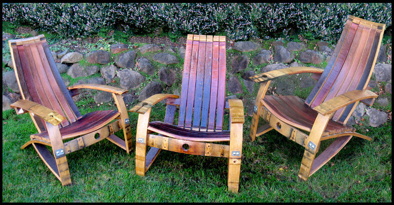 Top 100+ Wine Barrel Adirondack Chair Plans