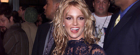 Britney Spears at the VMAs in 2001 (Dave Hogan/Getty Images)