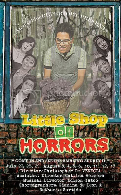 Blue Repertory's Little Shop of Horrors PR