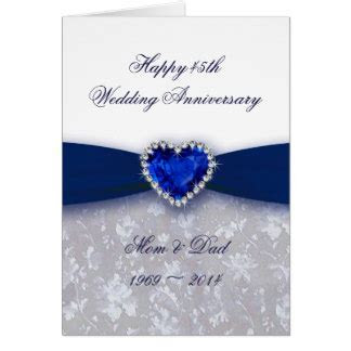 45th Anniversary Cards, Photocards, Invitations & More