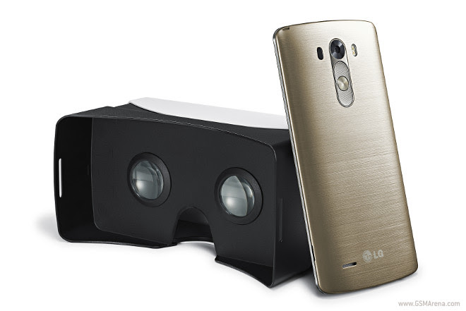 Buy LG G3 and get a free VR headset based on Google's Cardboard project